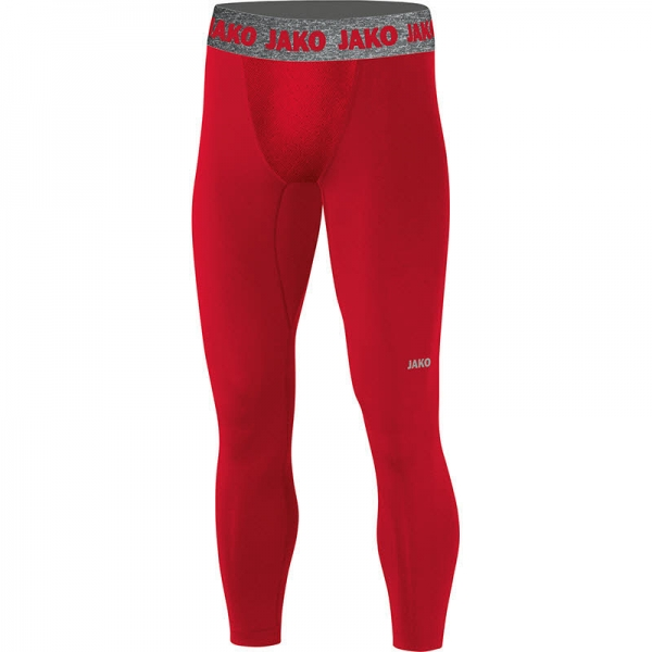 jako Long Tight Compression 2.0 rot