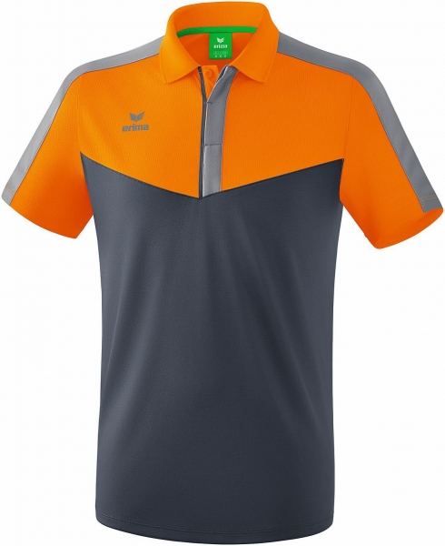 erima SQUAD Poloshirt new orange/slate gre