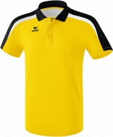 erima LIGA LINE 2.0 poloshirt funct yellow/black/white