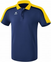 erima LIGA LINE 2.0 poloshirt funct new navy/yellow/dark